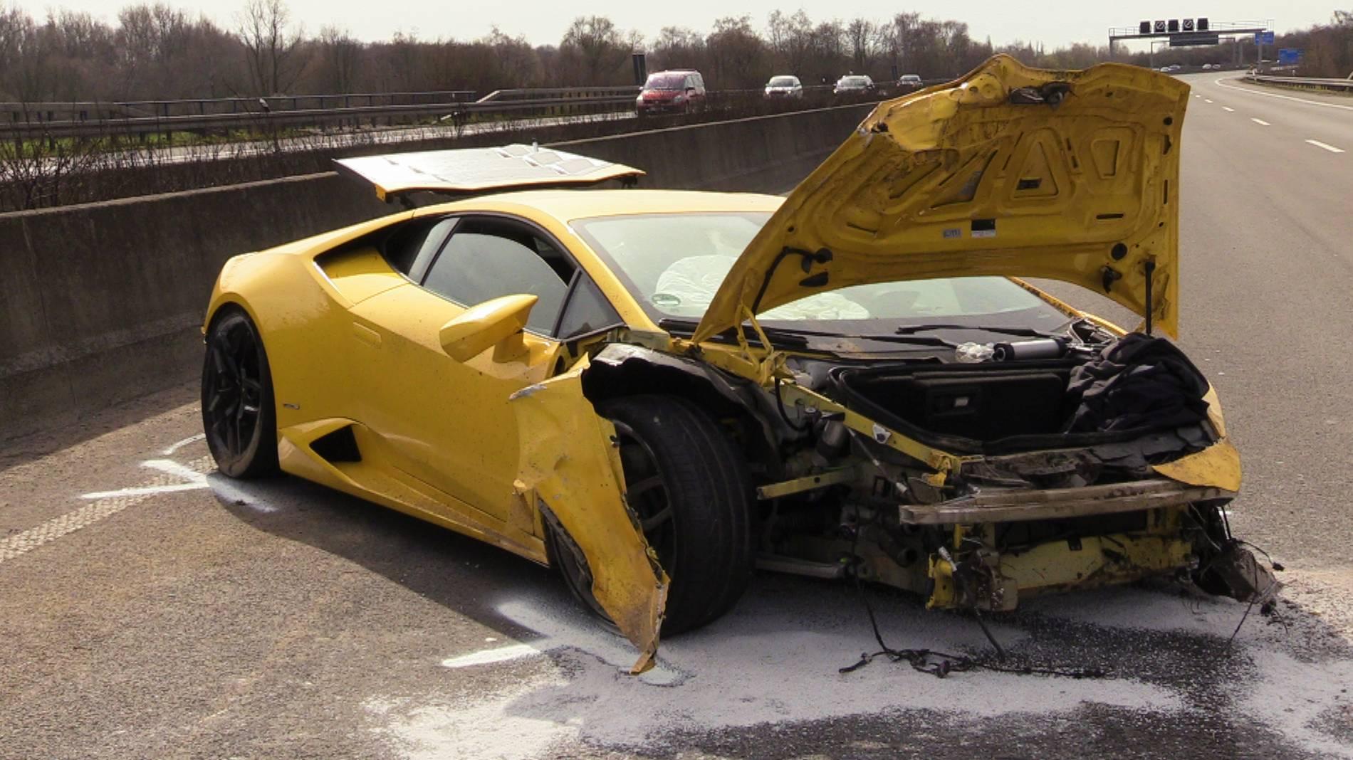 Lamborghini Unfall