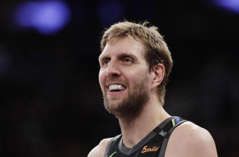 Basketball-Profiliga: NBA: Nowitzki gewinnt mit Dallas in New York