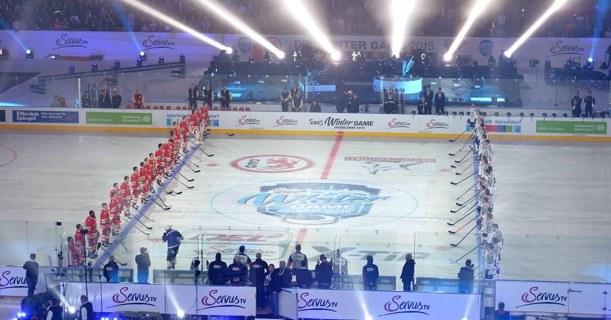 Eishockey Winter Game