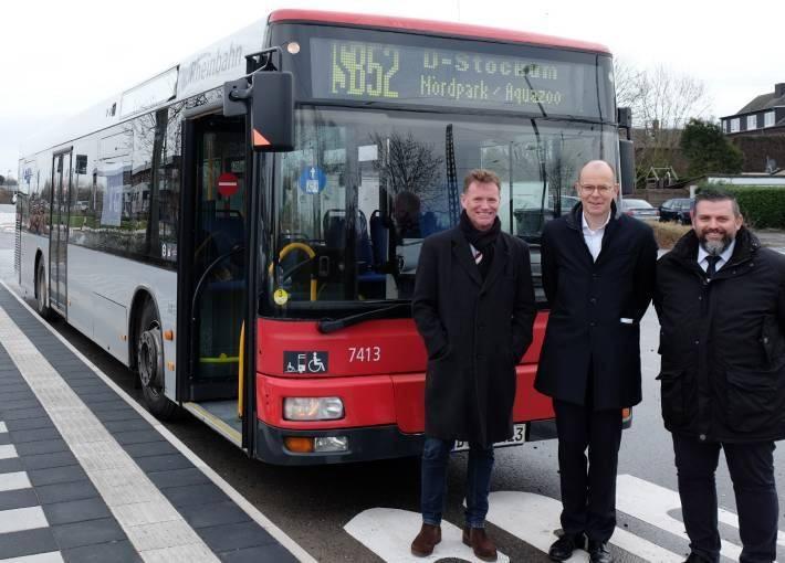 Rheinbahn: Die neuen Zeiten, Wege und Linien