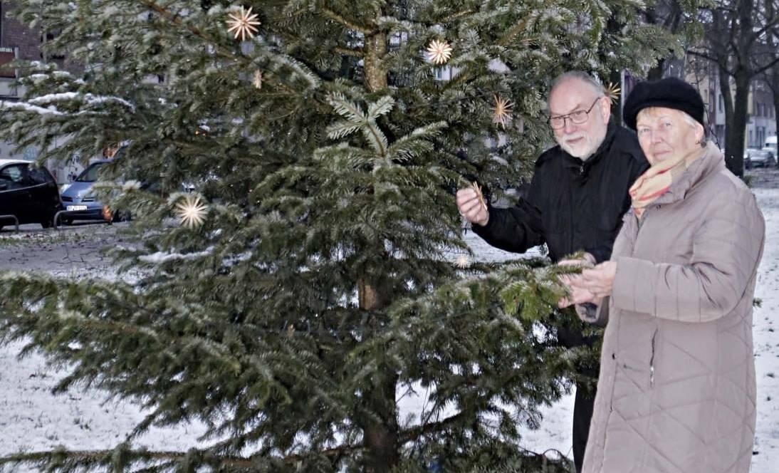 Alle Straßen führen zum Weihnachtsbaum