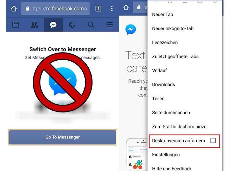 Facebook nachrichten blockieren umgehen