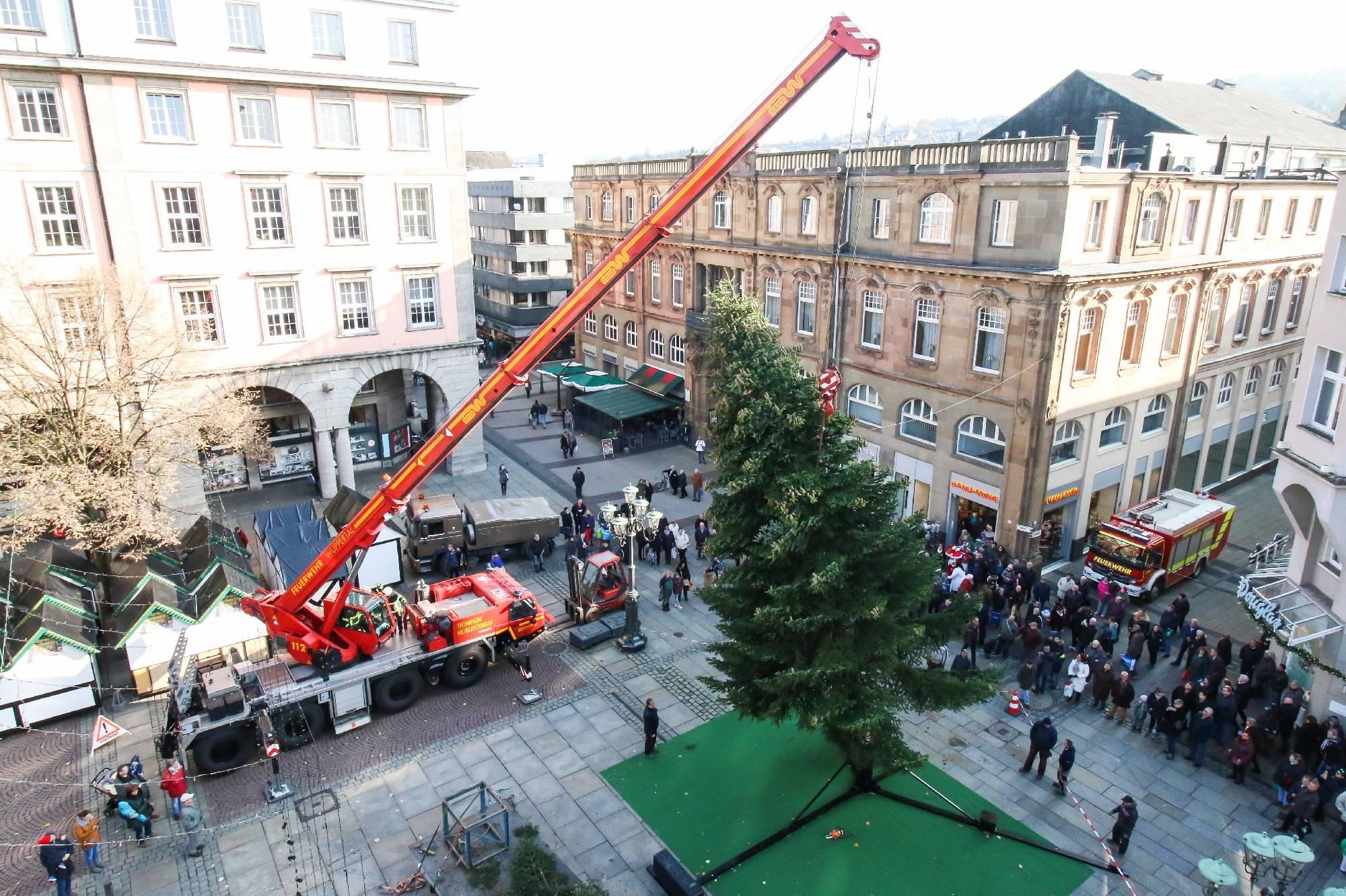 Weihnachtsbaum wuppertal