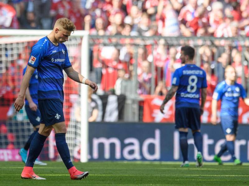 Bayern München Gegen Darmstadt 98