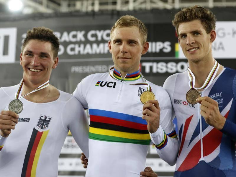 """Fühle mich wie ein Sieger"""": Liß gewinnt Silber bei Bahnrad-WM ..."""