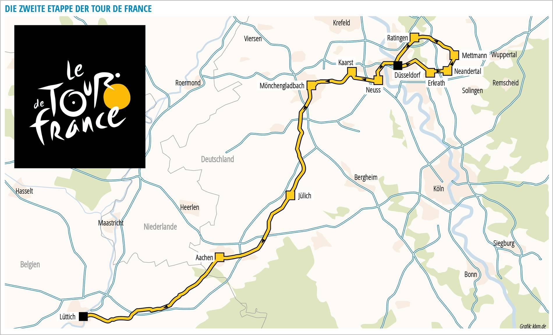 Tour De France Aachen Strecke