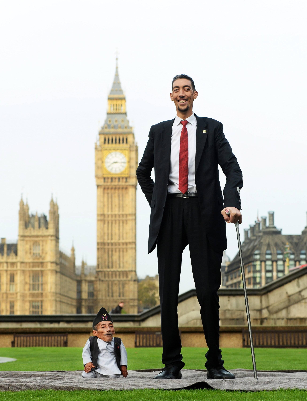 Der dünnster welt mann Stärkster Mann