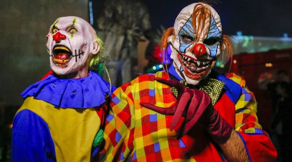 Fahndung nach Horror-Clowns in Burscheid