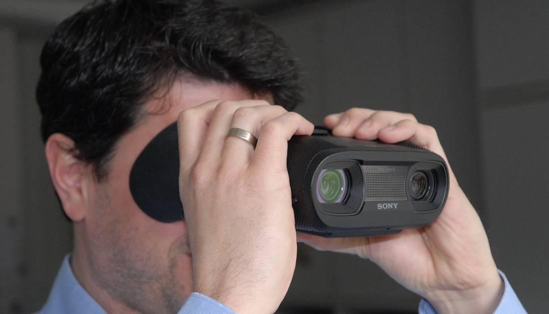 Sonys digitales fernglas dev v im test