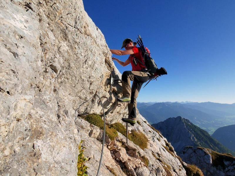 Klettersteig Netstal : Via ferrata burrone giovanelli leichter klettersteig
