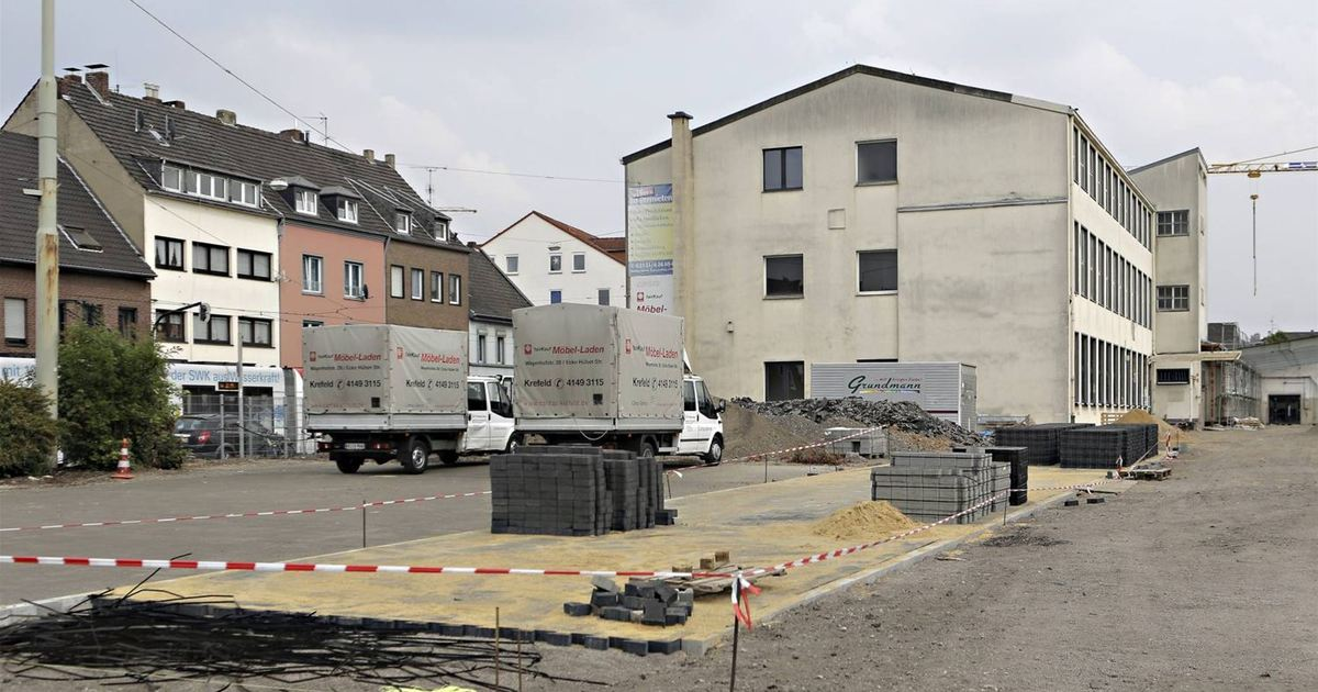 Hülser Straße Küchenstudio Und Praxen Kommen Ins Inrath