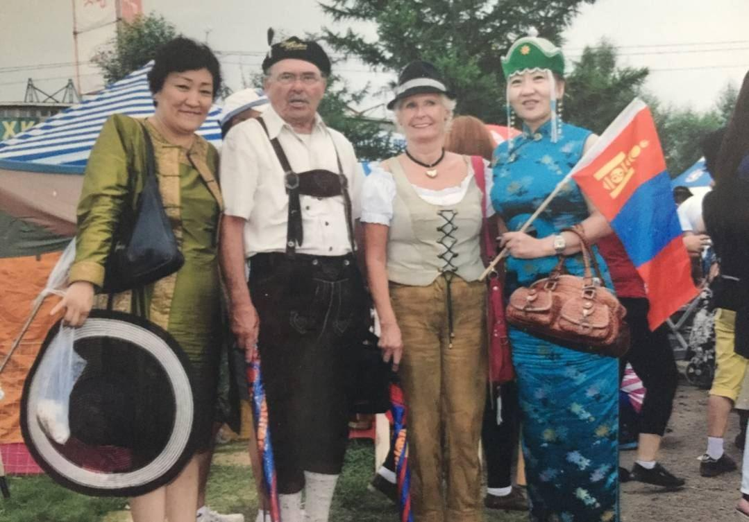 Mongolin kennenlernen