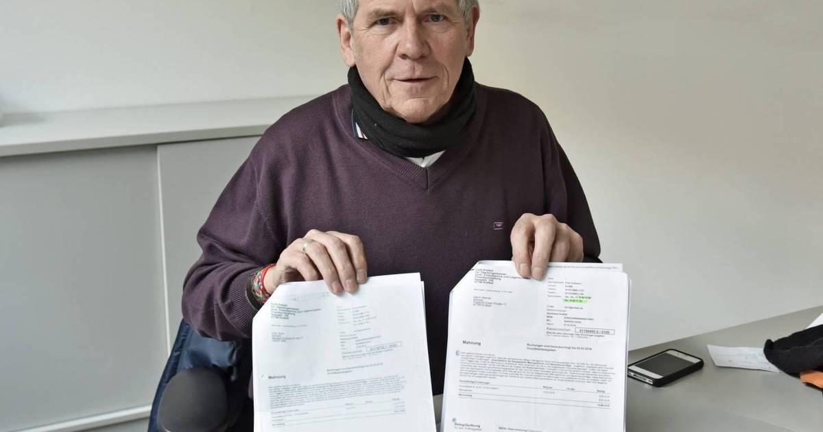 Grundsteuerbescheid ärger Um Mahngebühren