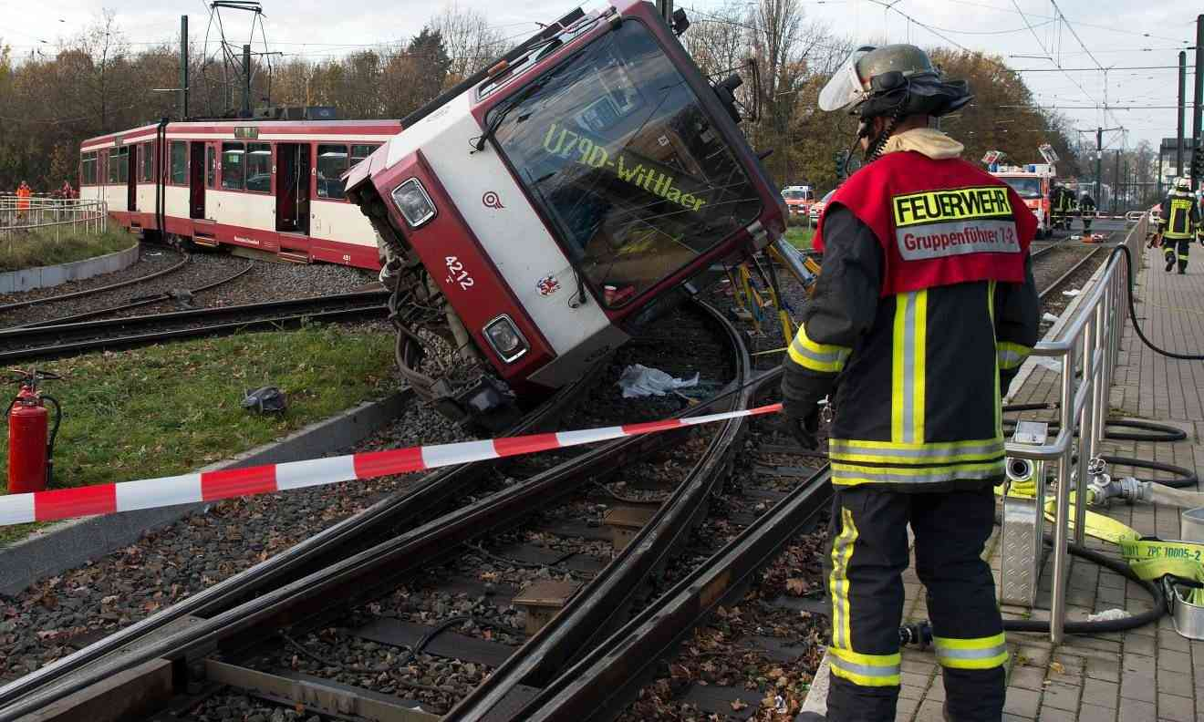 Zugunfall Düsseldorf