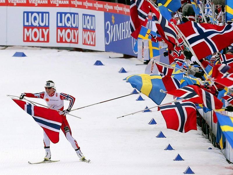 Gold für Norwegen