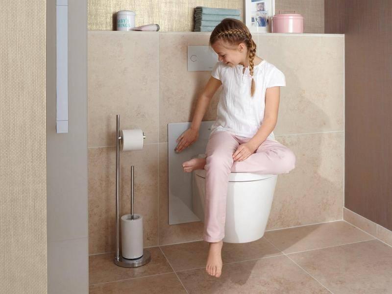Kindgerechtes Badezimmer: Austauschbares Zubehör nutzen