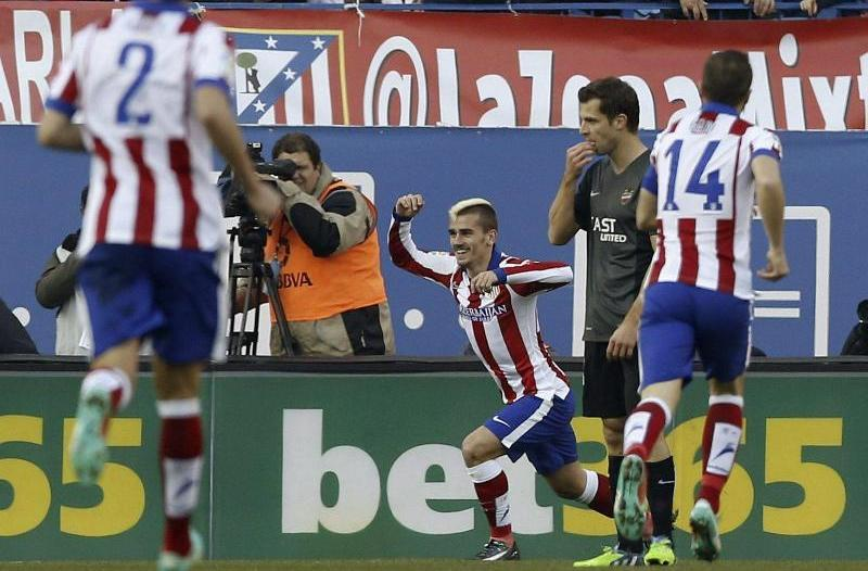 Atlético Madrid hält Anschluss: 3:1 gegen UD Levante