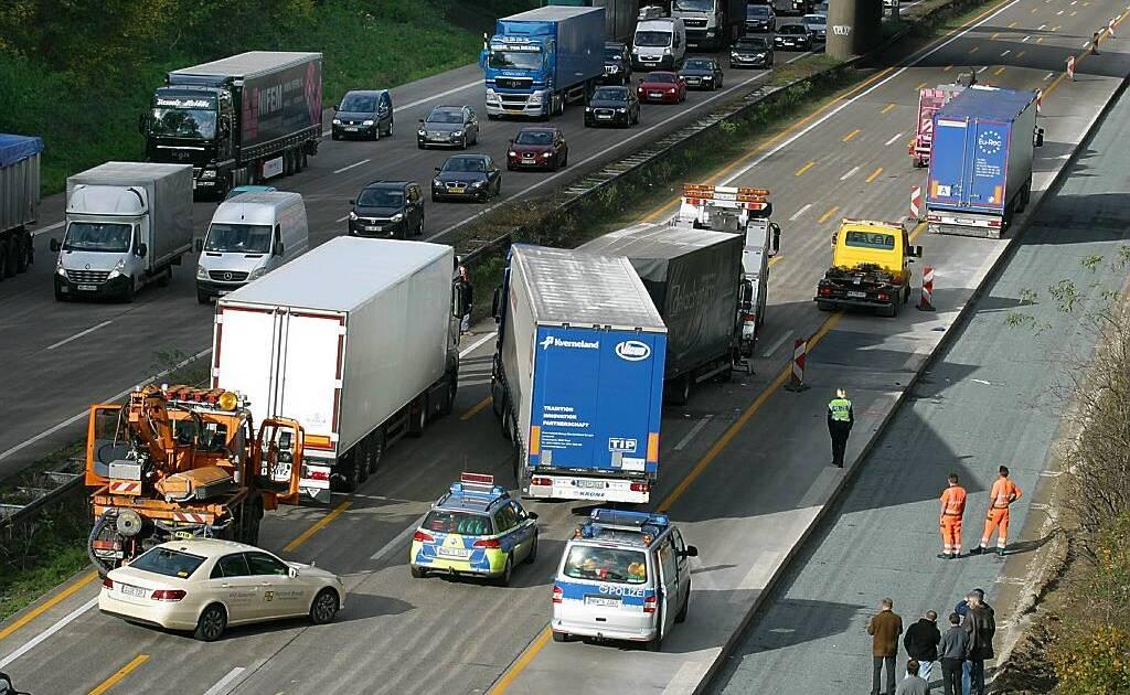 Verkehrsstörungen A3