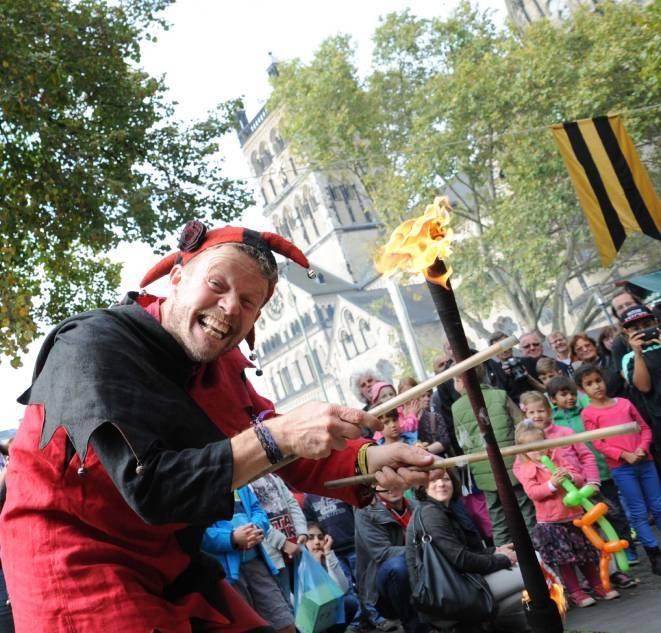 Freithof: Mittelaltermarkt kommt gut an