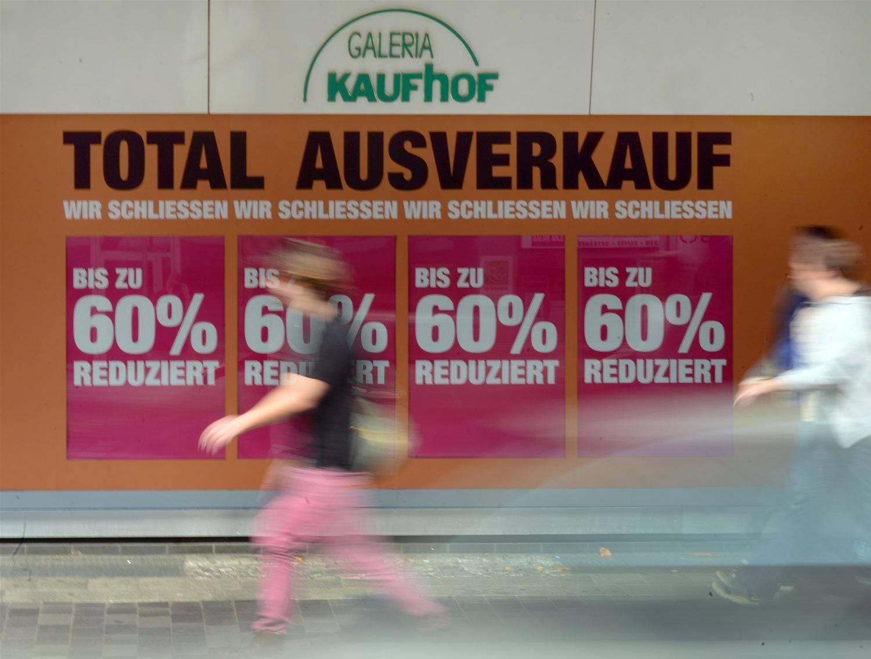 543c979e1717af Kaufhof  Der längste Ausverkauf des Jahres