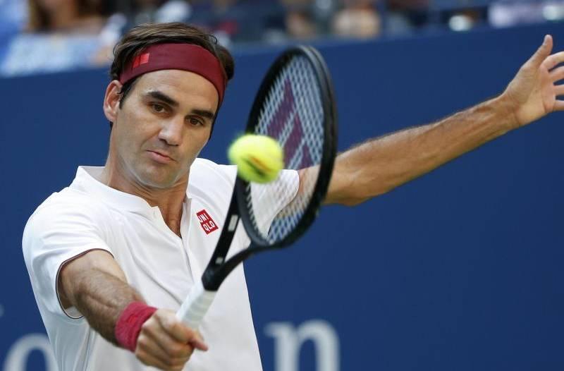 Tennis: Federer ohne Probleme ins Achtelfinale der US Open