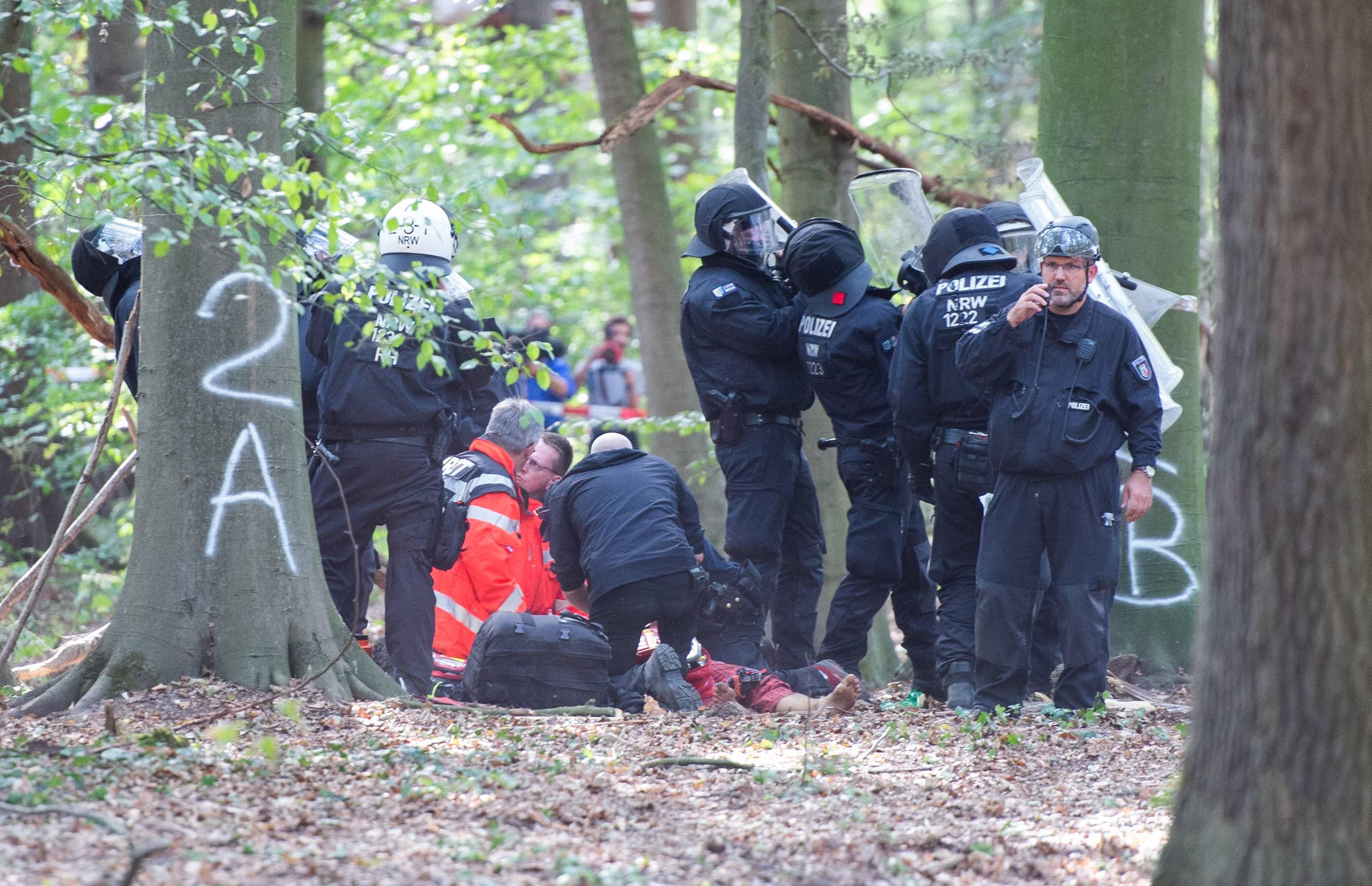 Hambacher Forst Tod