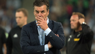 Trainer Dieter Hecking will gegen Hertha