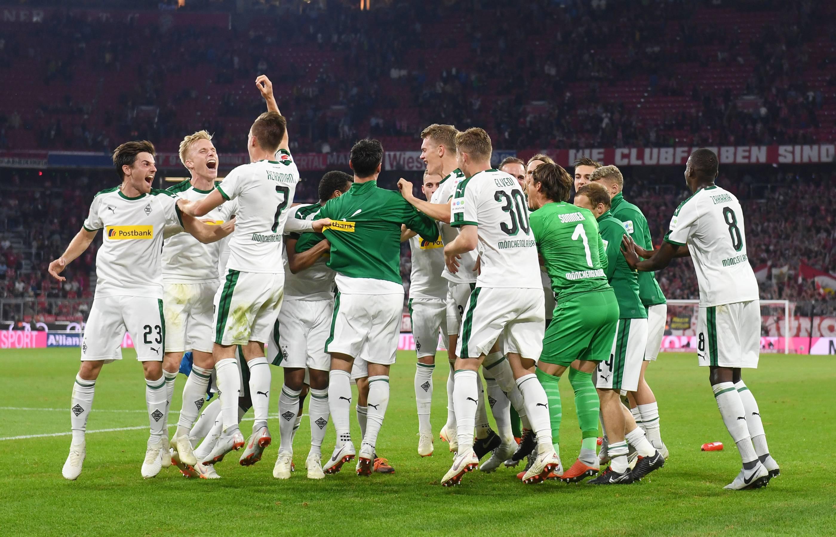 Bayern Gegen Gladbach