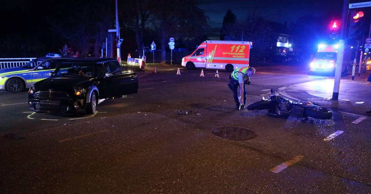 Unfall Krefeld
