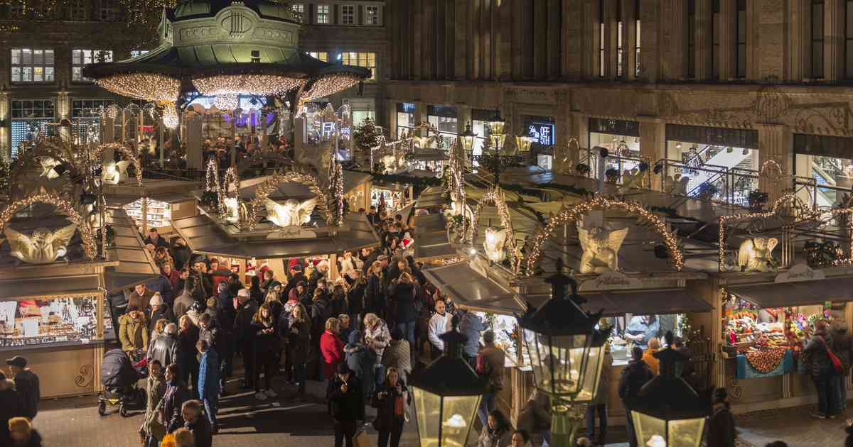 Weihnachtsmarkt Düsseldorf Eröffnung.Düsseldorfer Weihnachtsmarkt öffnet Am 22 November