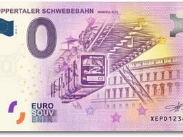 Wuppertal: Neuer Geldschein mit Schwebebahn-Motiv erhältlich