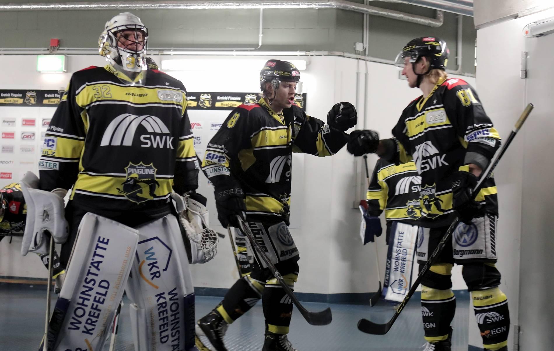 Krefeld Pinguine Vs Nürnberg Ice Tigers So Lief Das Spiel