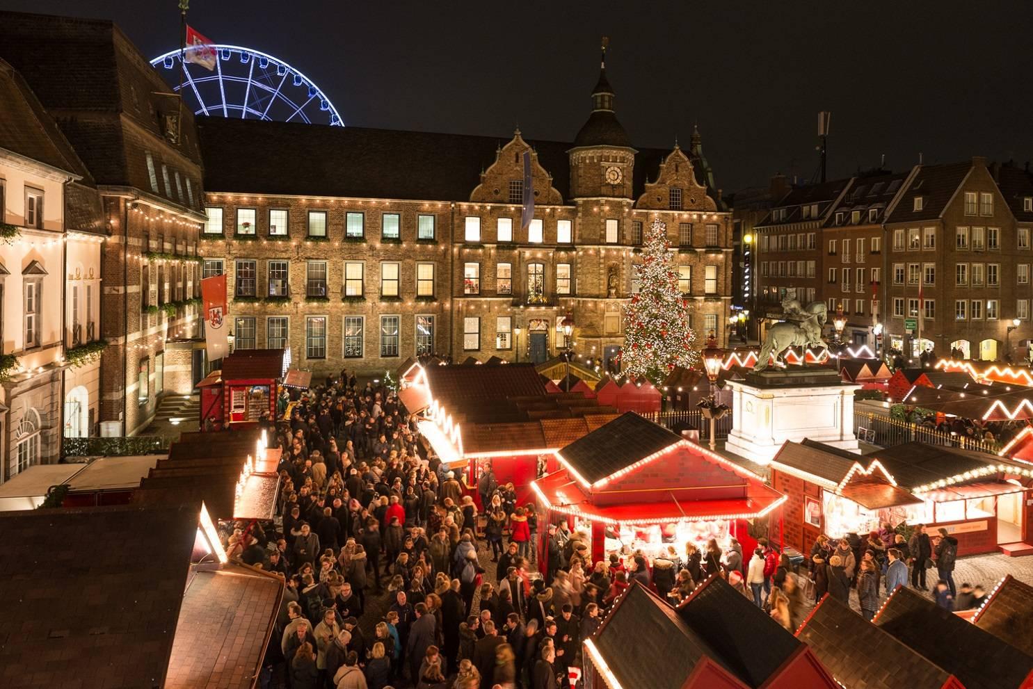 Besuch Auf Dem Weihnachtsmarkt.Letzte Chance Für Einen Weihnachtsmarkt Besuch In Düsseldorf