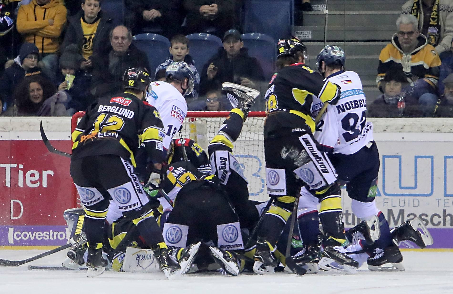 Nürnberg Ice Tigers Vs Krefeld Pinguine So War Das Spiel