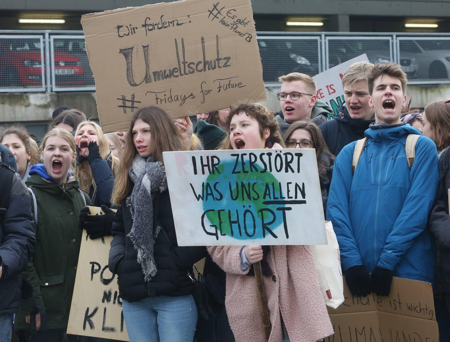 Fridays For Future Erste Demo In Wuppertal Am 15 Februar
