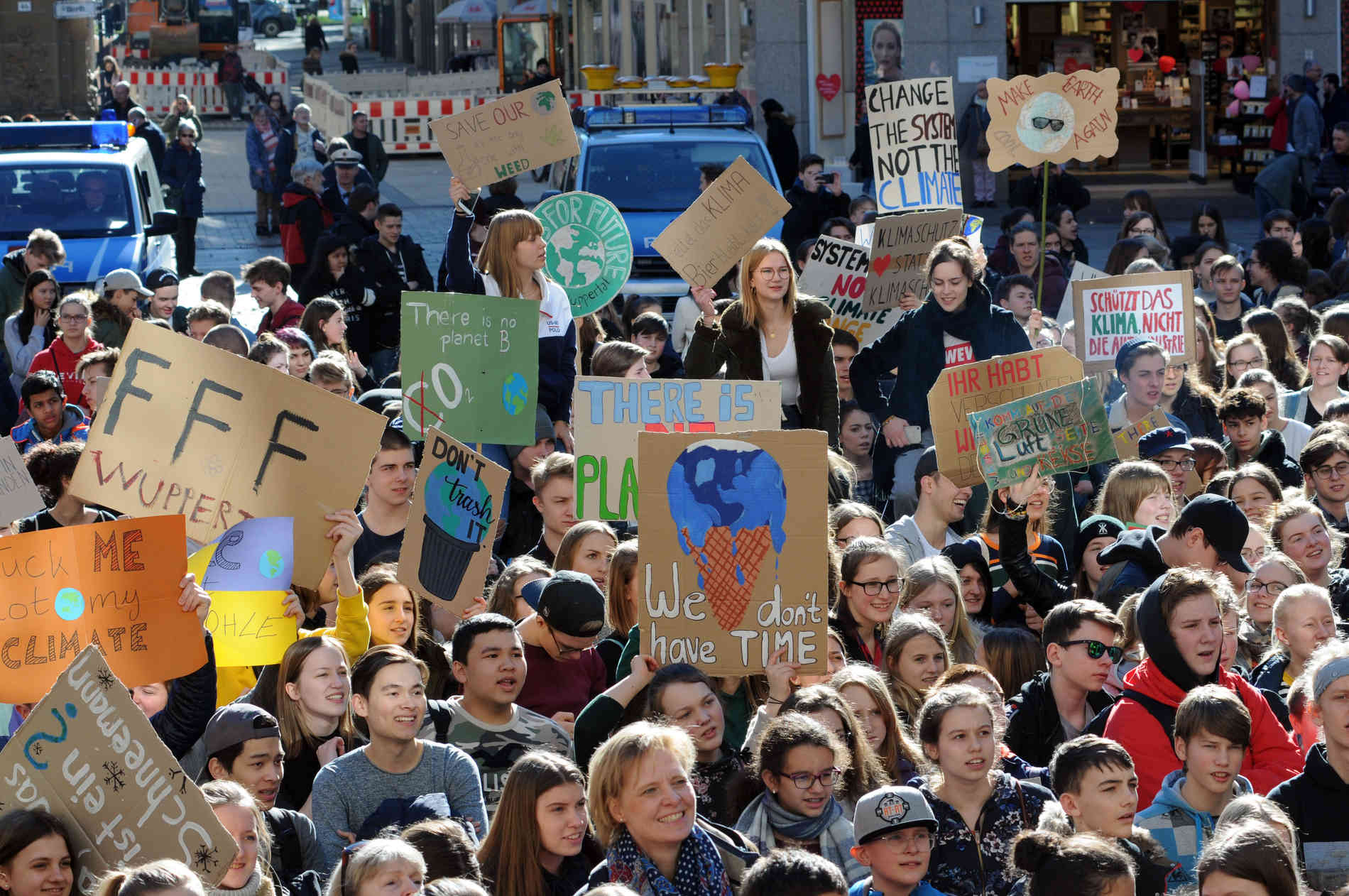 """Friday For Future: So Sind Die Reaktionen Auf Die Wuppertaler """"Fridays For"""