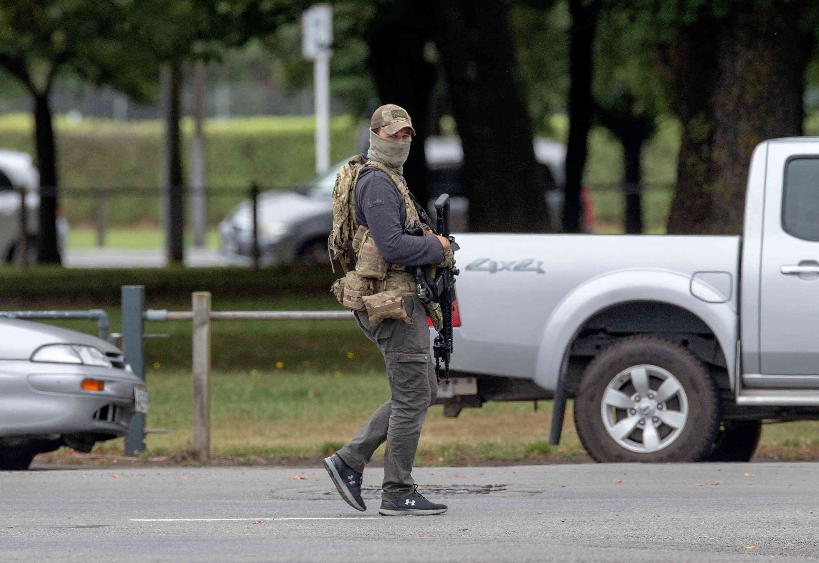 Neuseeland Terror Detail: Zahlreiche Tote Nach Angriff Auf Moscheen In Neuseeland