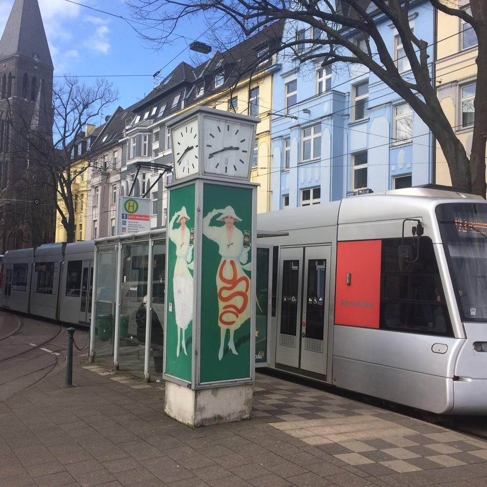 Rheinbahn: Auf'm Hennekamp: Neue Station