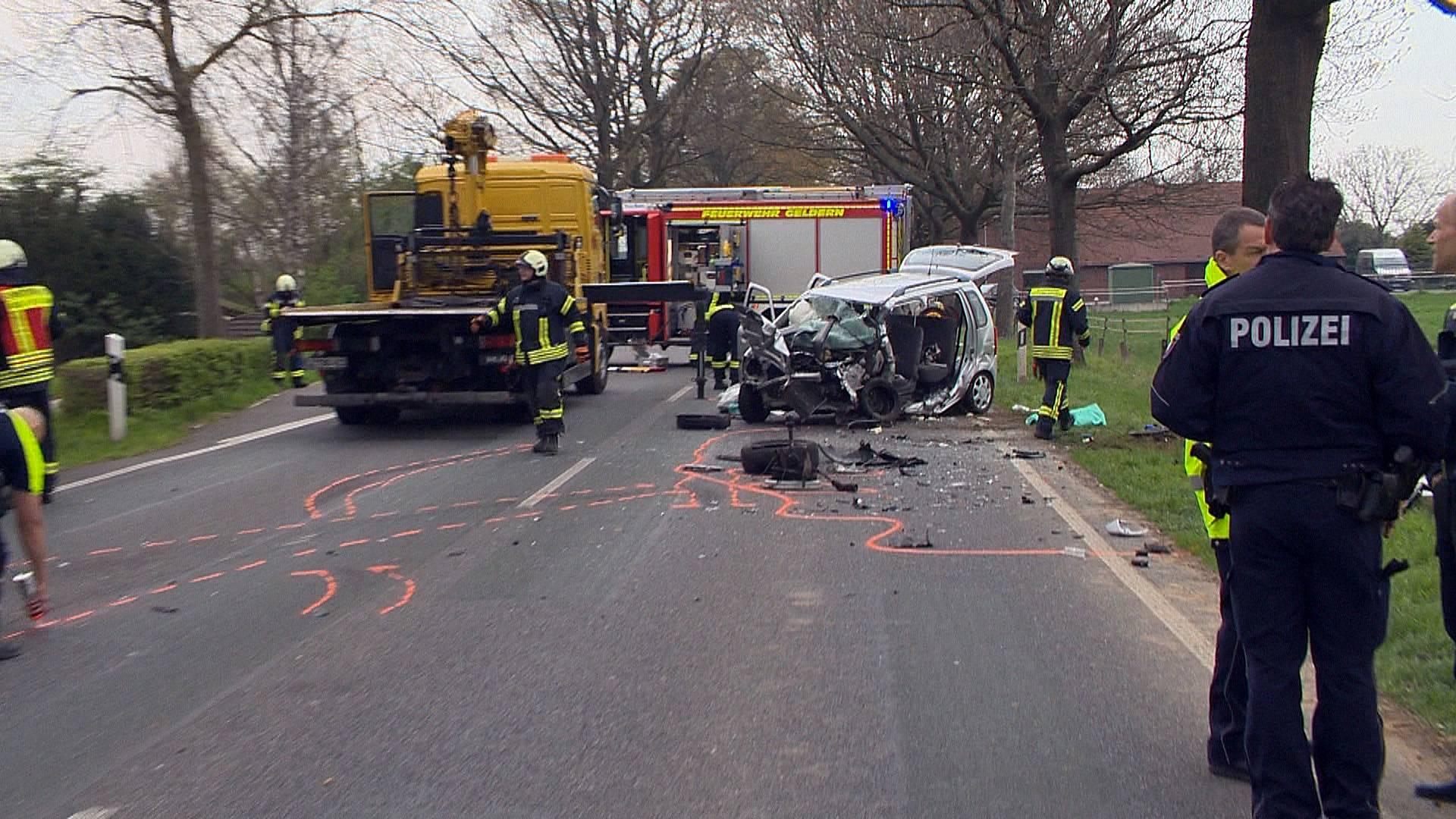 Heute Verkehrsunfall
