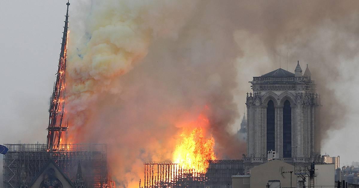 Kathedrale Brennt