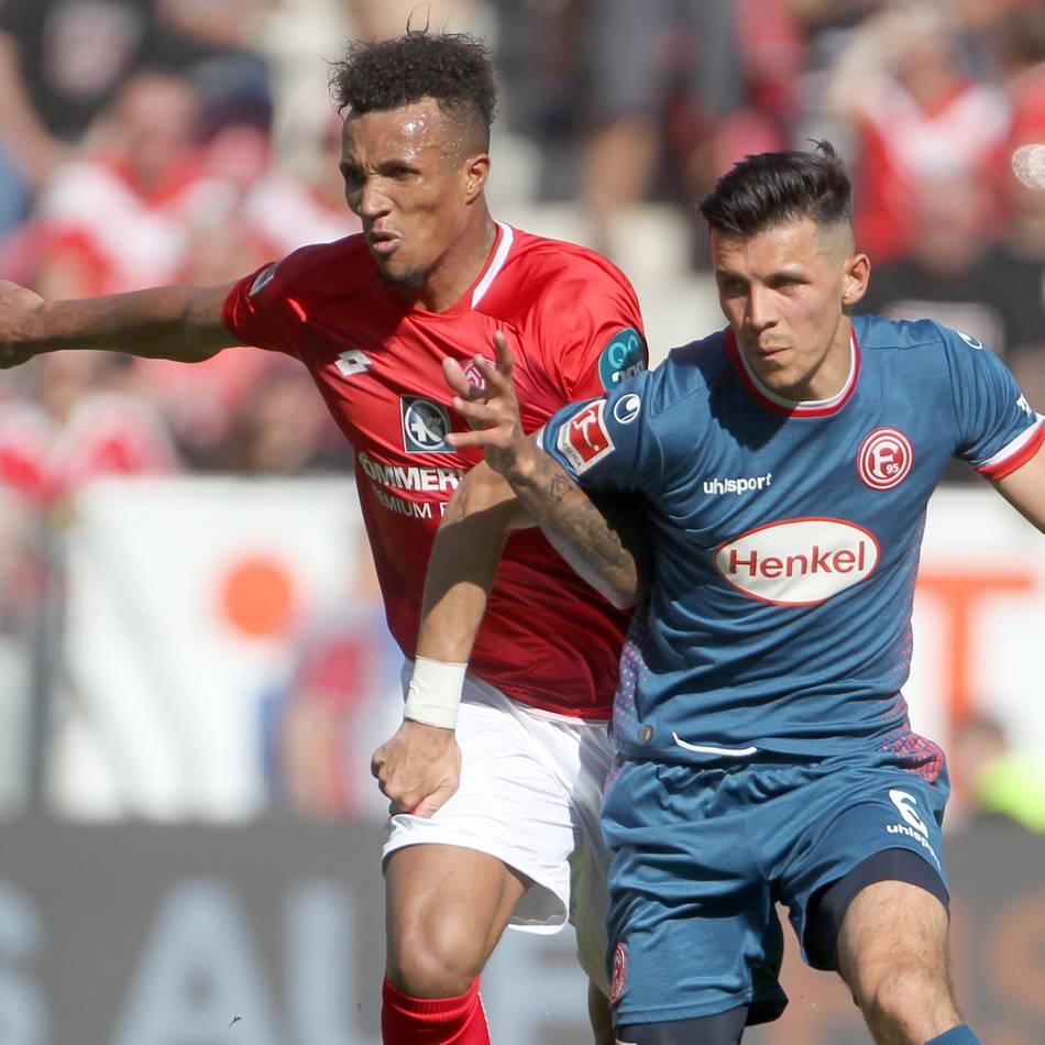 Mainz bezwingt die Fortuna: Fortuna Düsseldorf verliert unglücklich und zu hoch