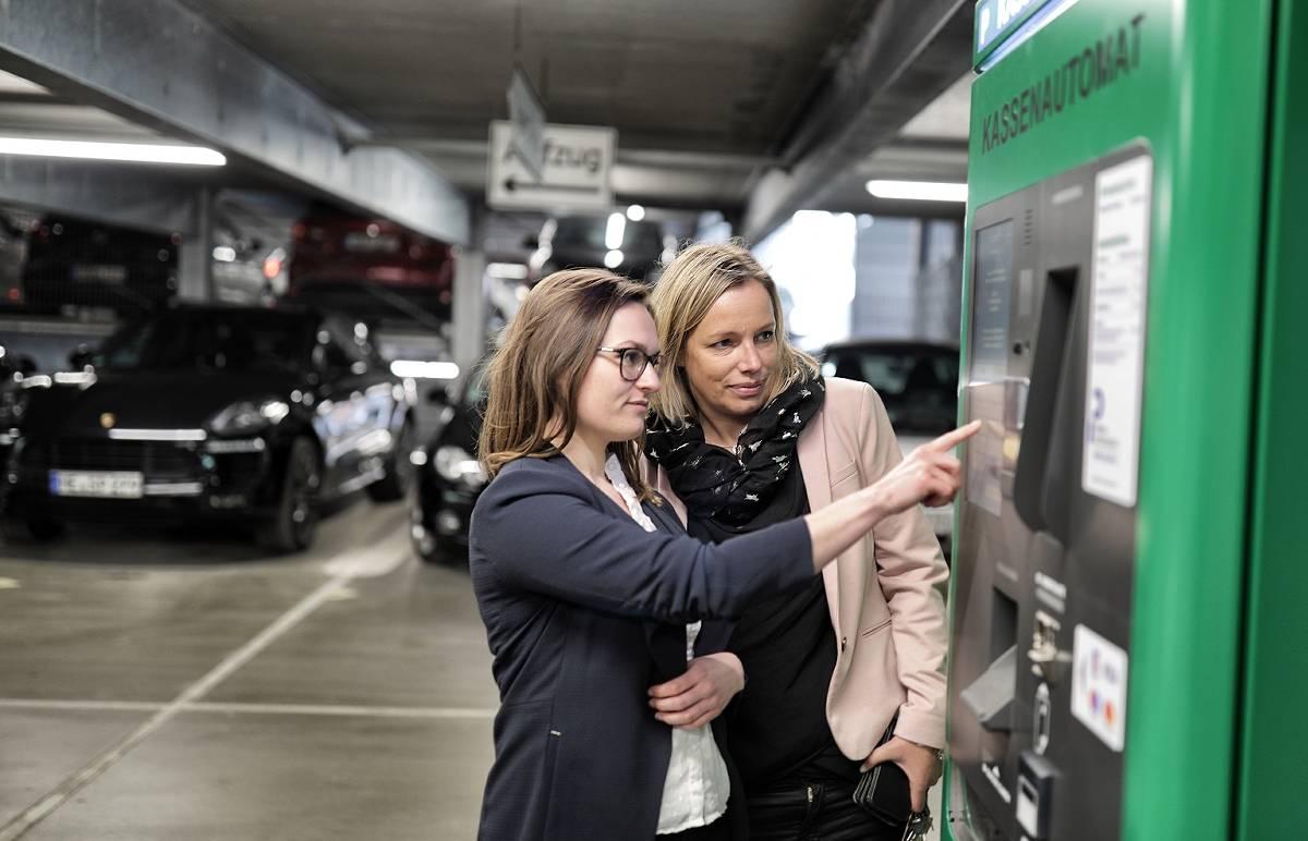 Parkhaus Umbau In Mettmann Jetzt Ohne Schranke Und Ticket