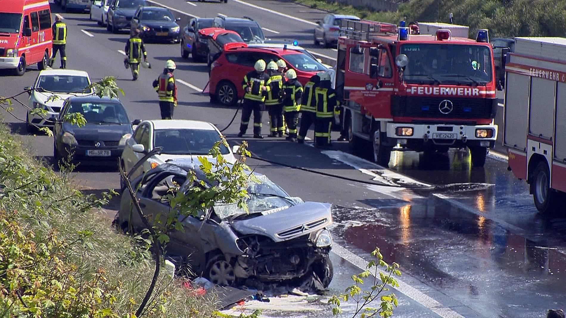 Unfall A61 Heute Rheinbach