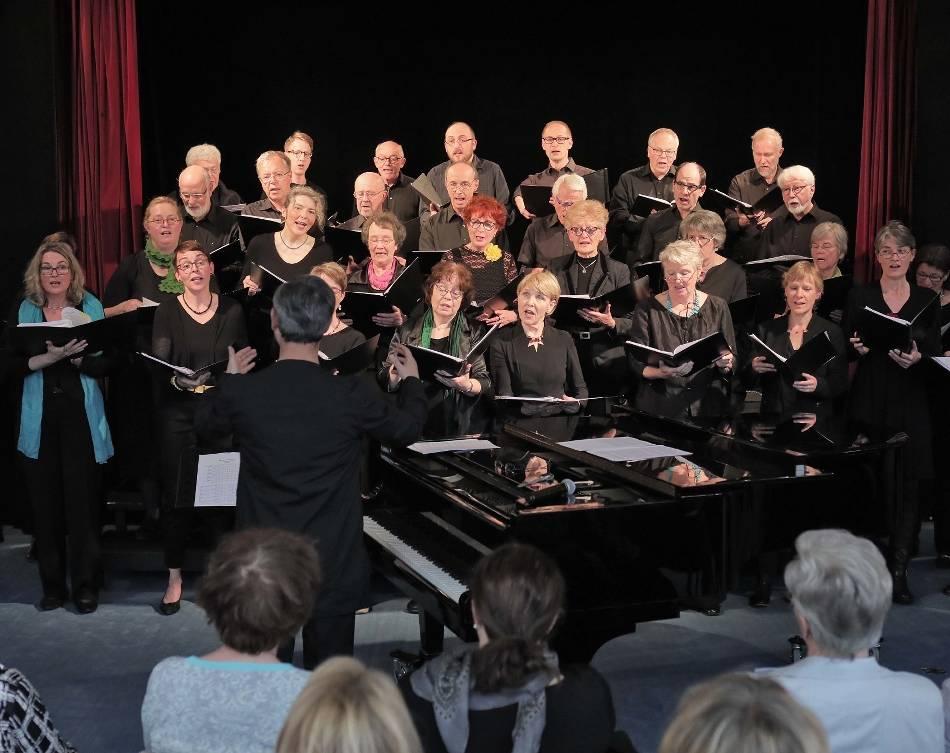 Konzert: Audienda-Chor reist durch Jahrhunderte