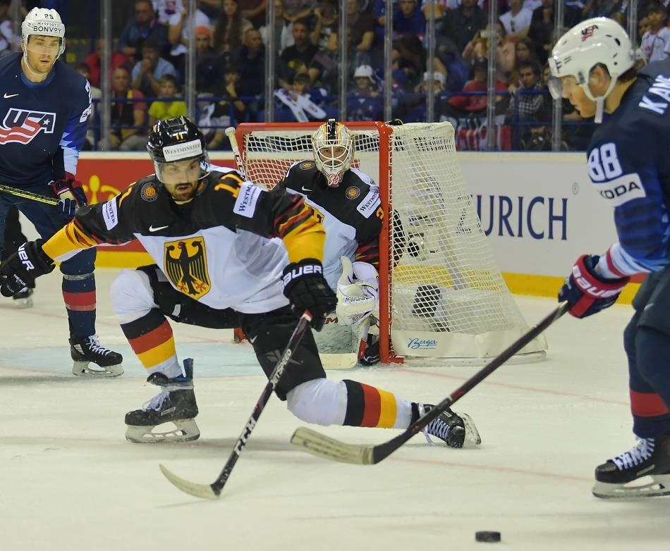 Eishockey: DEG-Torwart Niederberger überragend bei der Eishockey-WM