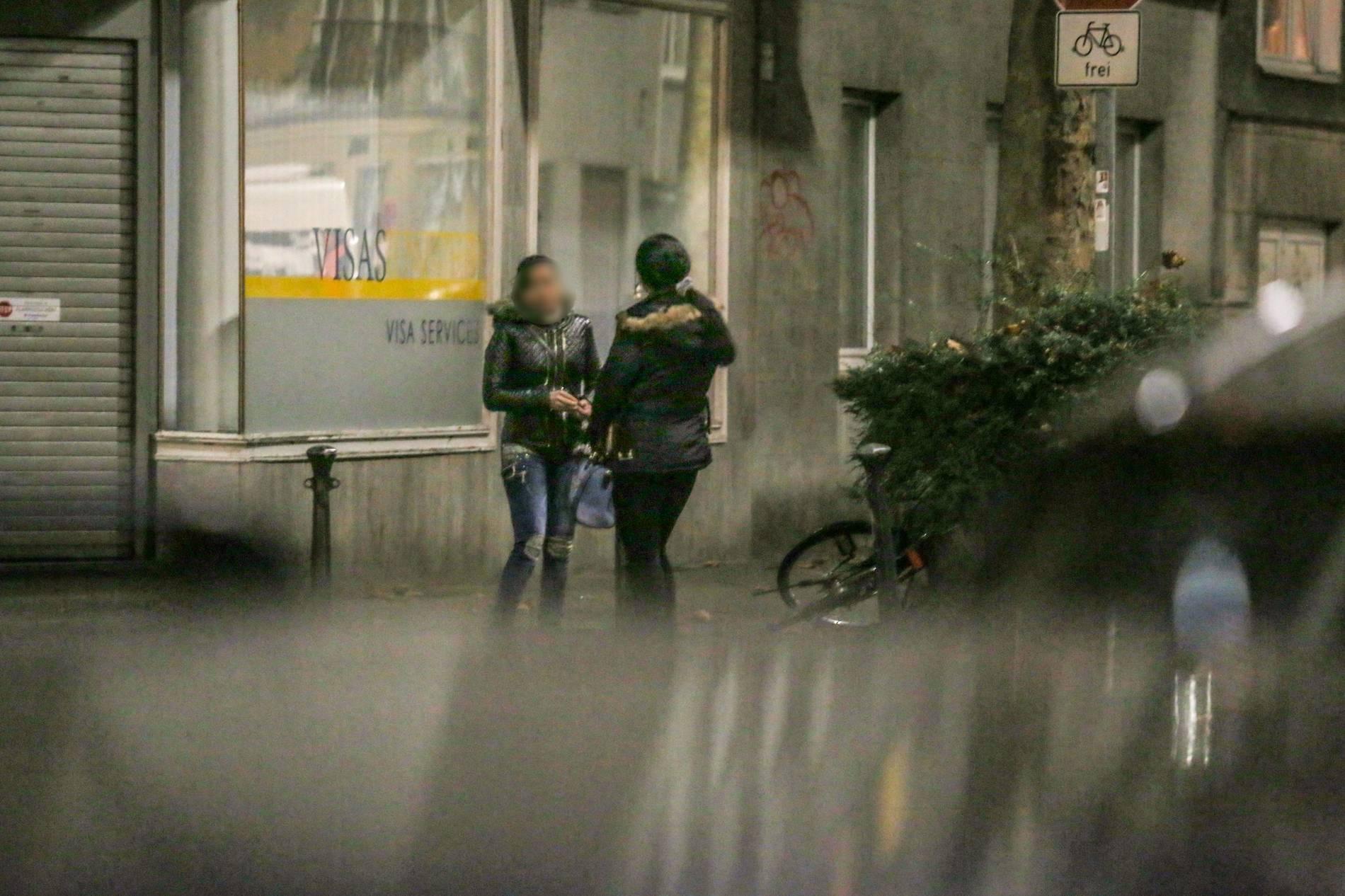 Düsseldorf: Nächtelanger Einsatz des OSD im Sperrbezirk