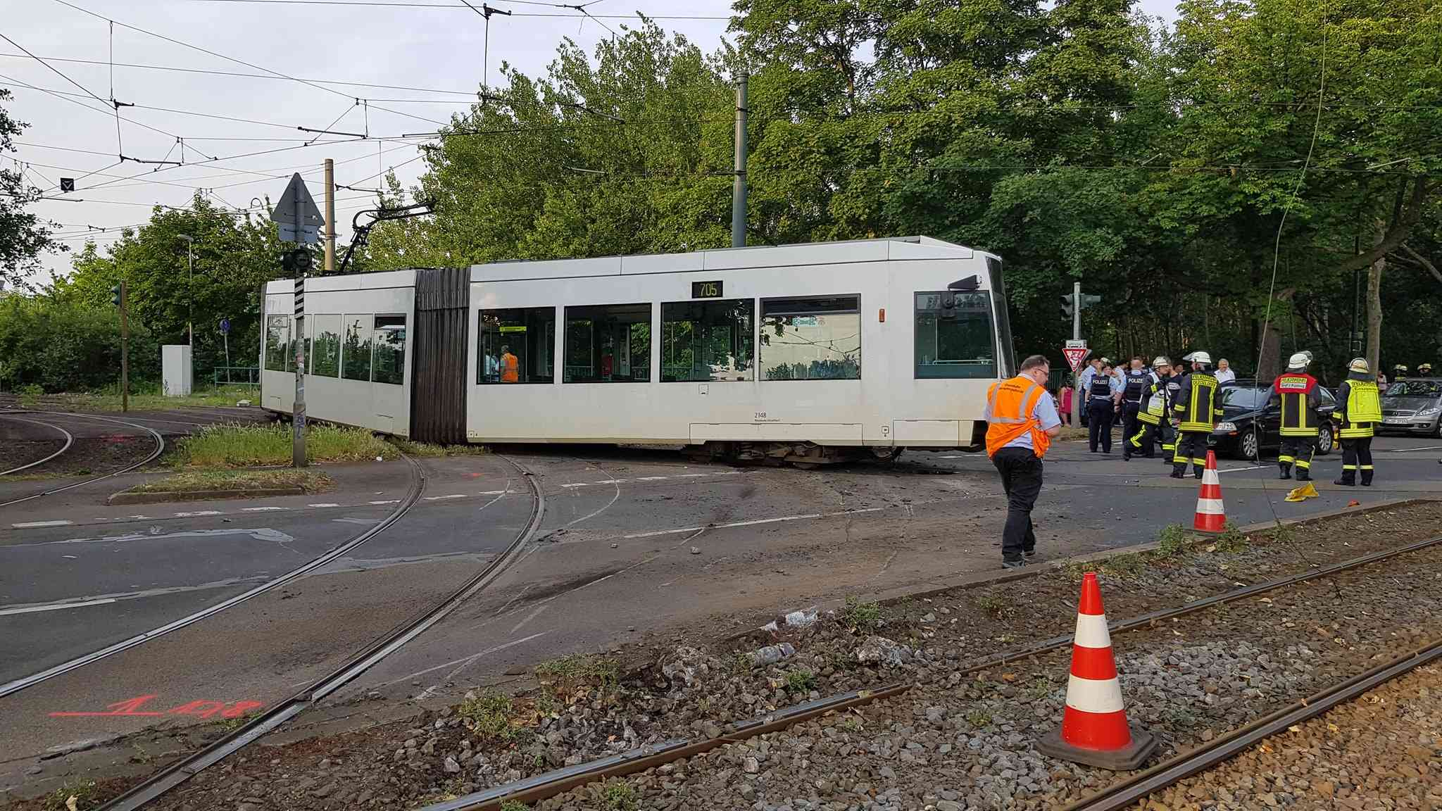 Unfall Straßenbahn