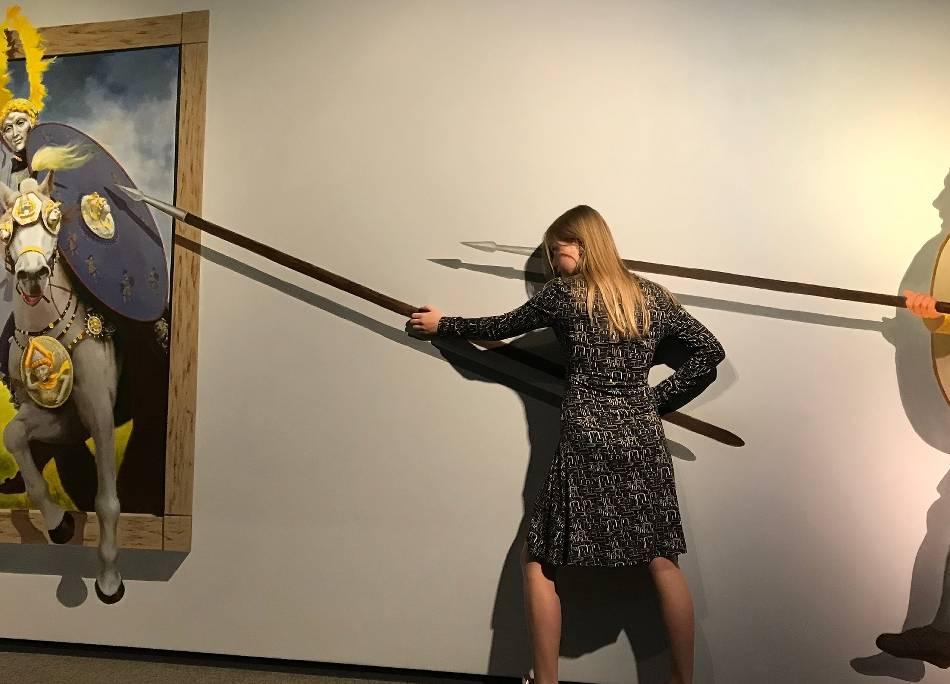 Rom-Serie: Museumsbesucher ziehen mit den Römern in die Schlacht