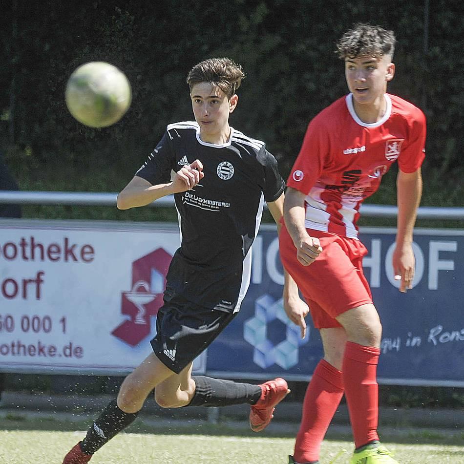 """Jugendfußball: """"Endspiele"""" in der Relegation zur Niederhrreinliga"""