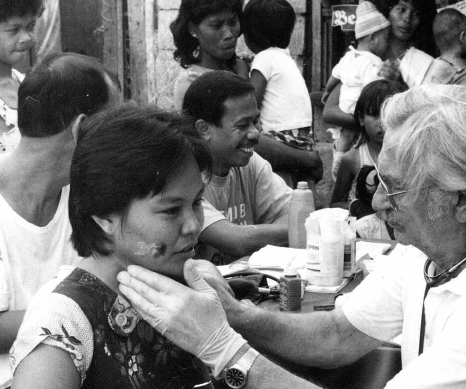 Ärzte für die Dritte Welt : 35 Jahre lang unermüdlich im Einsatz für Aussätzige und Arme